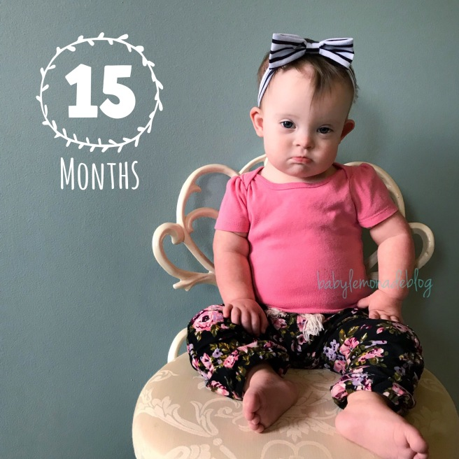 Kara is 15 Months Old and has lots of spunk!