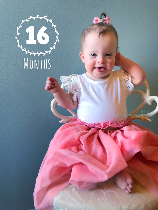 My 16 Month Old with Down Syndrome