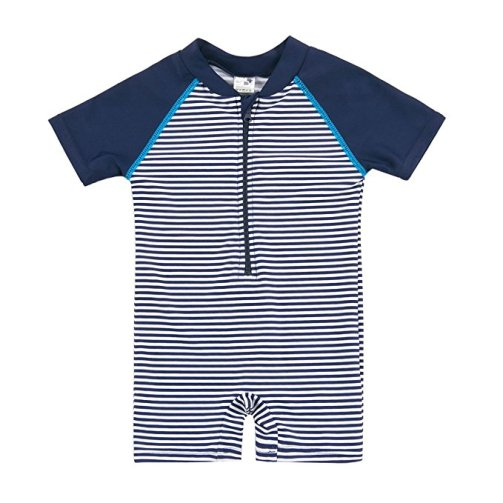 Sansi Kids Boy Girl Swimsuit One Piece Surfing Suits Beach Swimwear Rash Guard