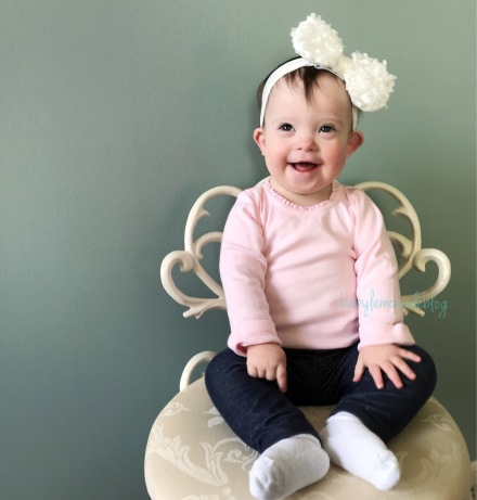 My 17 Month Old with Down syndrome